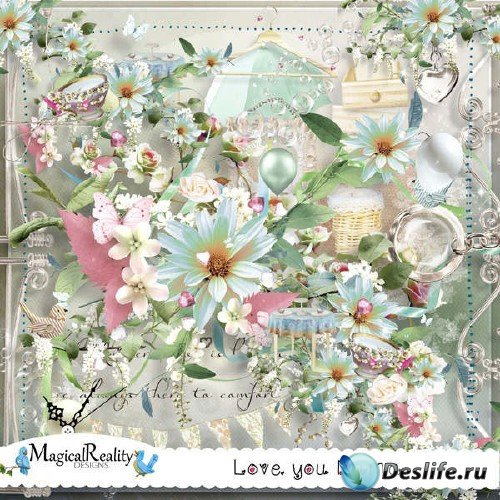 Восхитительный скрап-комплект - Love You Mama