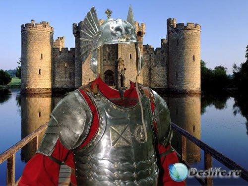 Мужской костюм - Храбрый крестоносец в снаряжении