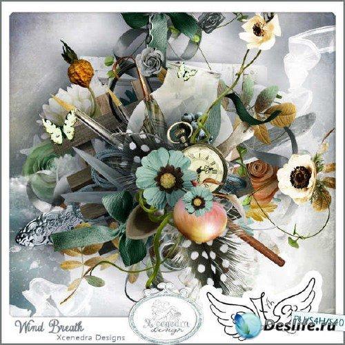 Цифровой скрап-комплект - Wind breath