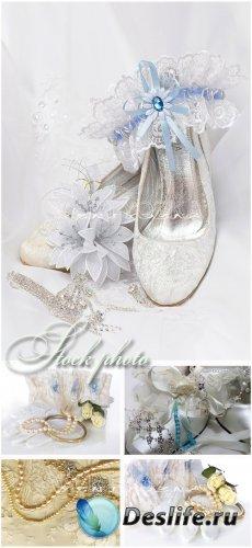 Свдебные фоны, аксессуары невесты / Wedding backgrounds, bride's garter, w ...