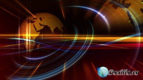 Футаж высокого качества - Аура Планеты Земля