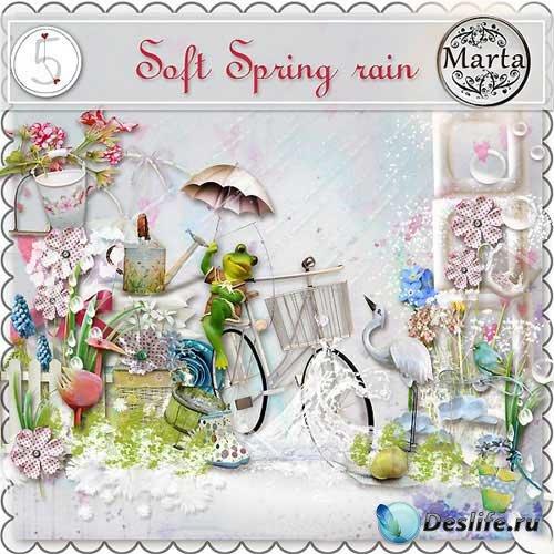 Весенний скрап-набор - Весенний дождь