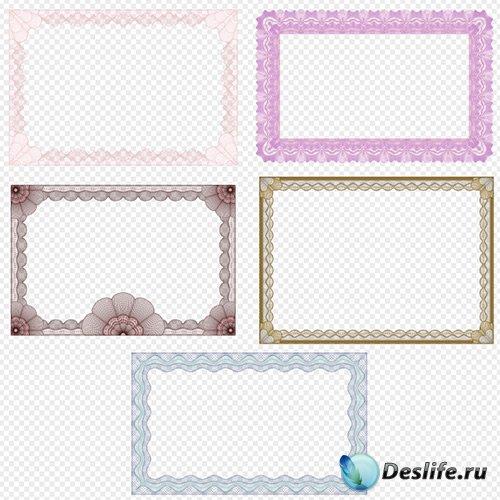 Прозрачные рамки вырезы для творческих работ на прозрачном фоне