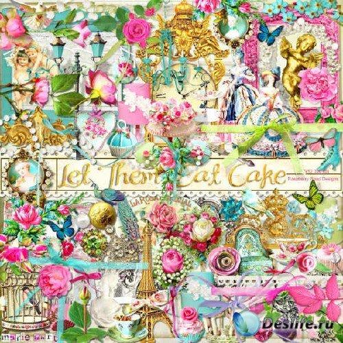 Красочный скрап-комплект - Let Them Eat Cake