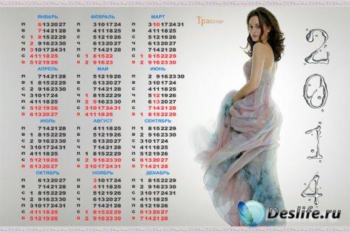 Календарь 2014 год - Gossip Girl (Сплетница)-Блэр Уолдорф (Лейтон Мистер -  ...