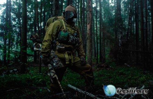 Костюм для фотошопа  - Снайпер на задании