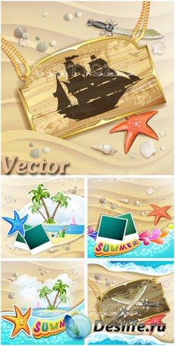 Летний отдых на побережье моря  / Summer holidays on the coast of the sea - ...