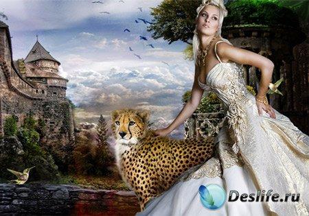 Костюм женский - На стене крепости