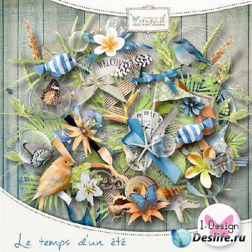 Летний скрап-комплект - Le Temps d'un Ete