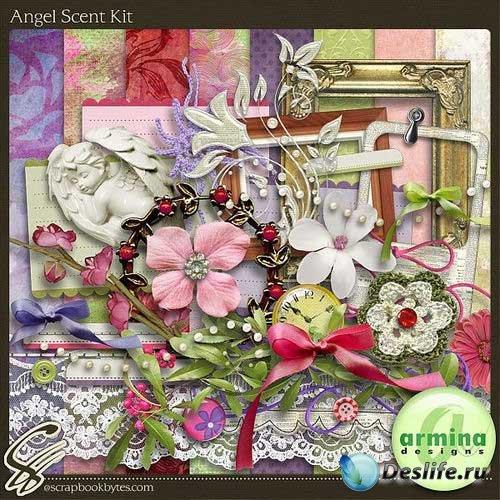 Романтический скрап-комплект - Ангельский аромат