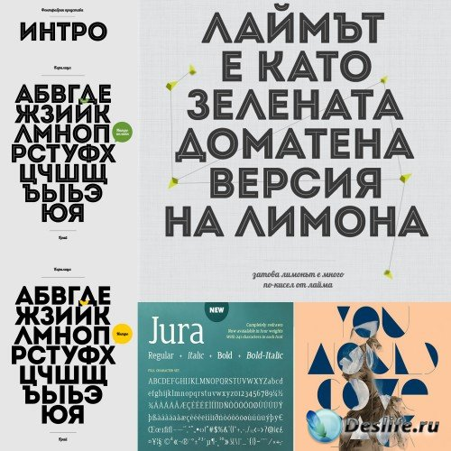 Font GoodIntent, JURA, intro-inline