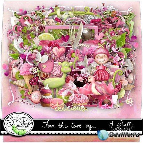 Романтичный скрап-набор - За любовь