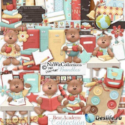 Скрап-набор для школьников - Медвежья академия