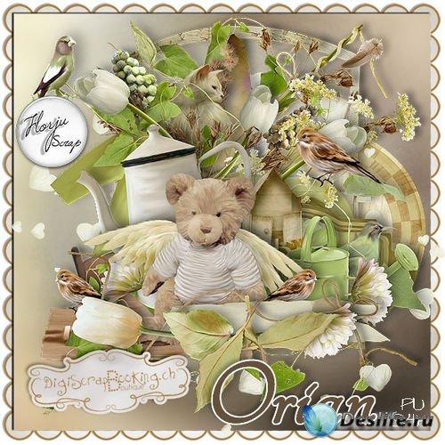 Интересный детский скрап-комплект - Ориан