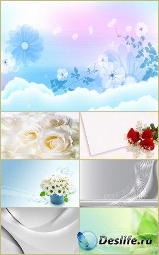 Белые фоны для фотошопа