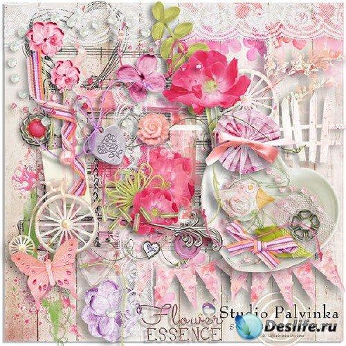 Комплект для скрапбукинга - Flower Essence