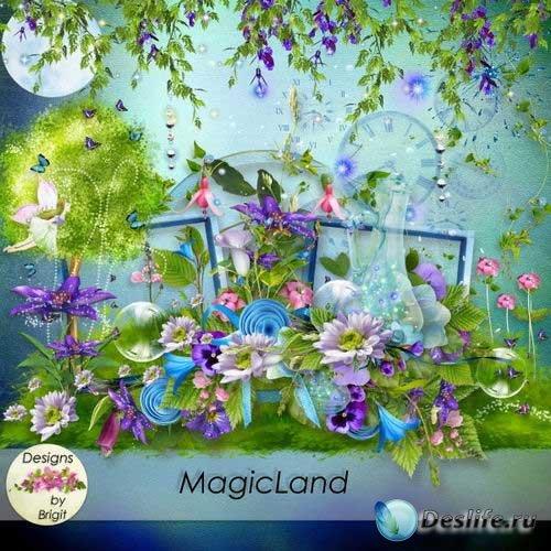 Прекрасный сказочный скрап-комплект - Волшебная страна