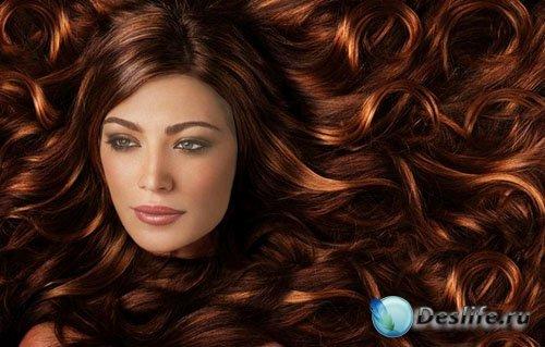 Костюм для photoshop - Яркие волосы