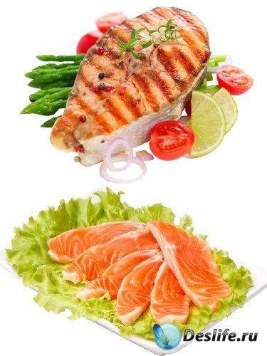 Фотосток: Аппетитные кусочки рыбы