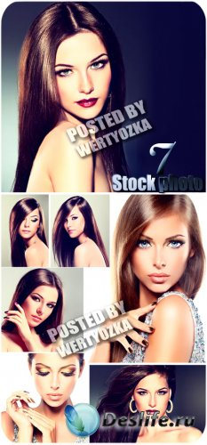 Обворожительные красотки / Enchanting Beauty - stock photos