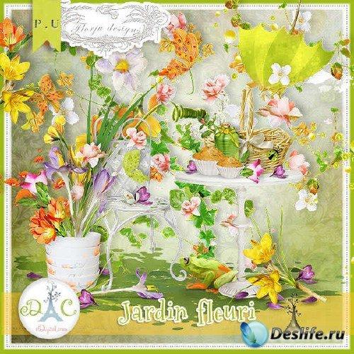 Комплект для скрапбукинга - Jardin Fleuri