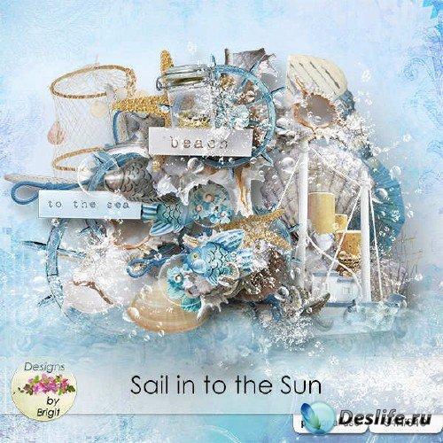 Цифровой скрап-комплект - Sail into the Sun