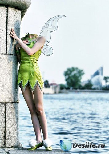 Костюм для фото - Фея из сказки в мире людей