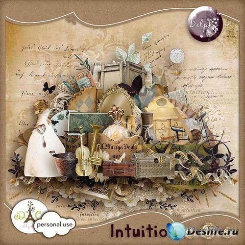 Винтажный скрап-комплект - Интуиция
