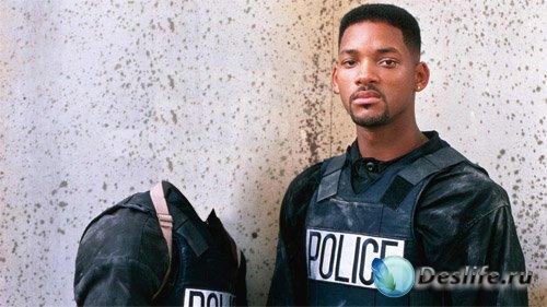Костюм для фотошопа - В полицейской форме с Will Smith