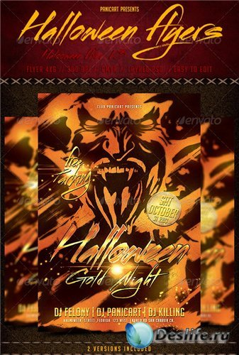 GraphicRiver - Halloween Flyer Templete V3