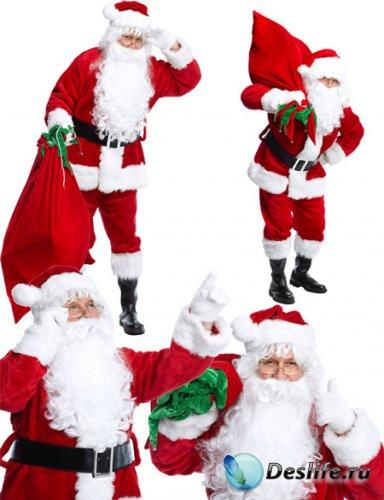 Клипарт - Подарки Санта Клауса