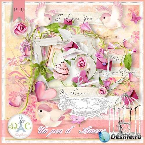 Романтический скрап-комплект - Немного любви