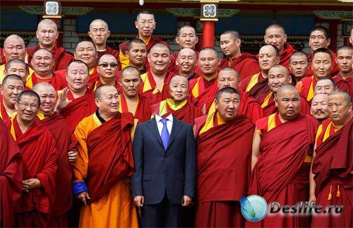 Костюм для фотошопа - Увлекательная поездка в Тибет