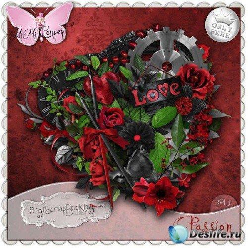 Любовный скрап-комплект - Passion
