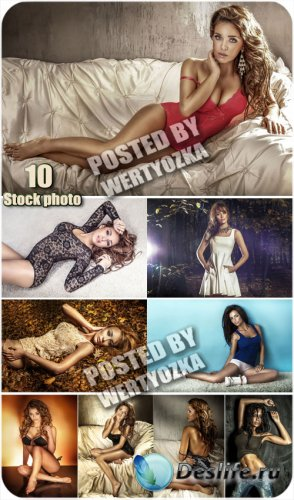 Прекрасные и очаровательные девушки / Beautiful and charming girls - stock  ...