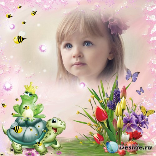 Детская рамка для фотографии - Маленькая фея