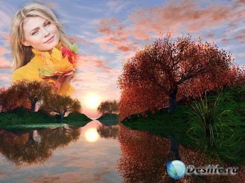 Фоторамка - Осенняя природа