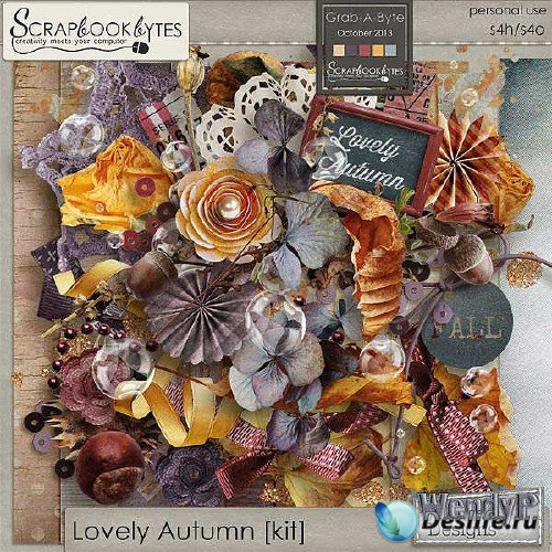 Комплект для скрапбукинга - Lovely Autumn