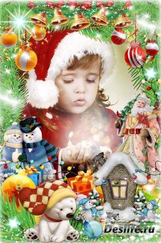 Рамка для фото - Сказочный Новый год