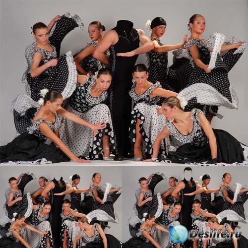 Костюм мужской - Настоящий танцовщик с женской группой