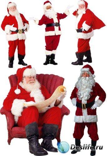 Санта Клаус - рождественский клипарт