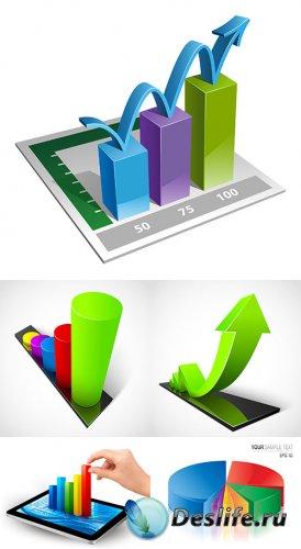 Векторный клипарт - 3D графики