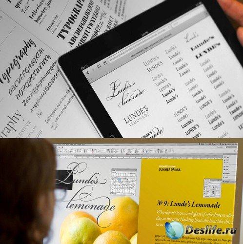 Adobe Font Folio 11.1 OpenType® Pro Fonts Only