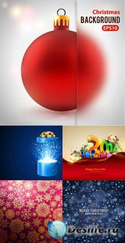 Векторный клипарт - Новогодняя коллекция 6
