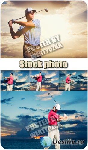 Гольф - сток фото