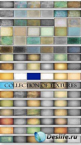 Большая коллекция текстур в серых тонах