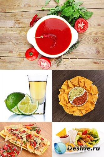 Растровый клипарт - Мексиканская еда