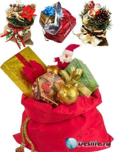 Мешки и мешочки с подарками
