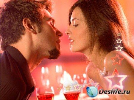 Футаж романтический - Романтический вечер