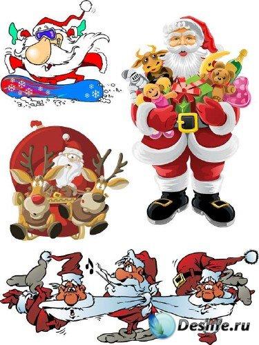 Векторные отрисовки Санта Клауса (часть вторая)